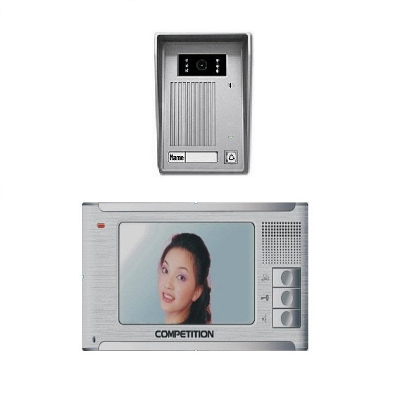Bộ màn hình màu chuông cửa COMPETITION MT-337C-K2/ SAC-35C