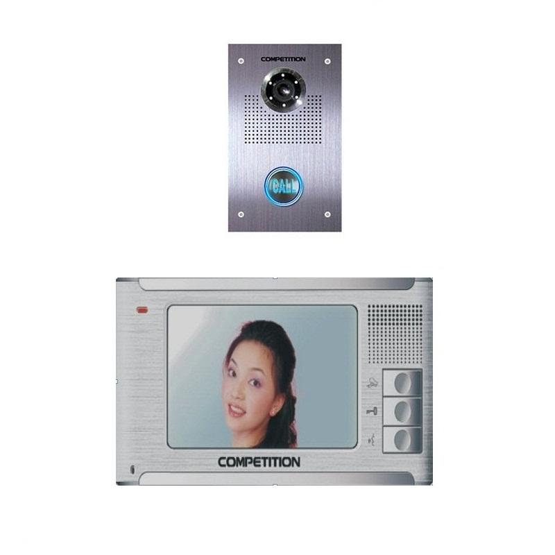 Bộ màn hình màu chuông cửa COMPETITIONMT-371C-K2/ SAC-551C