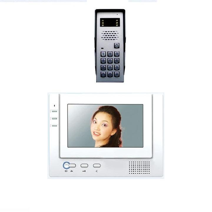 Bộ màn hình màu chuông cửa COMPETITIONMT-371C-K2/ SAC-50C