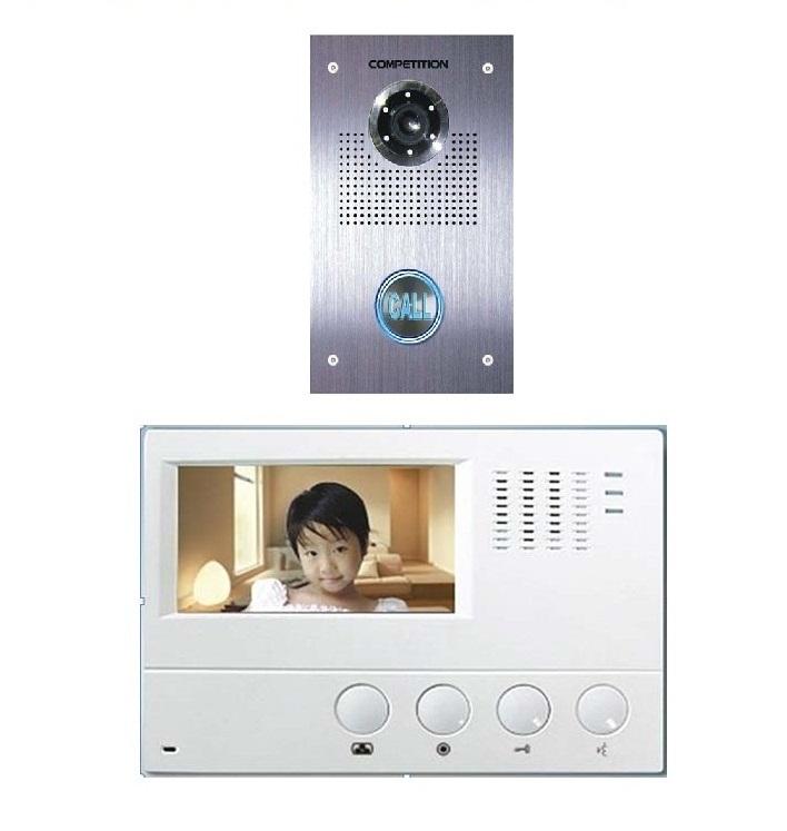 Bộ màn hình màu chuông cửa COMPETITIONMT-392C-CK2S1/ SAC-551C