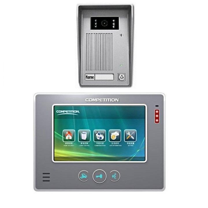 Bộ màn hình màu chuông cửa COMPETITIONMT-810 C-CK2/ SAC-35C